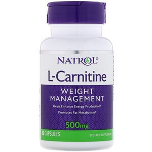 NATROL L-CARNITINE CAPS
