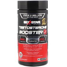 SIX STAR TESTOSTERONE BOOSTER CAPS