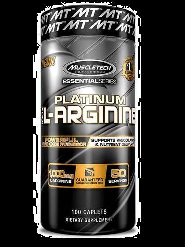 MUSCLETECH PLATINUM 100% L ARGININE
